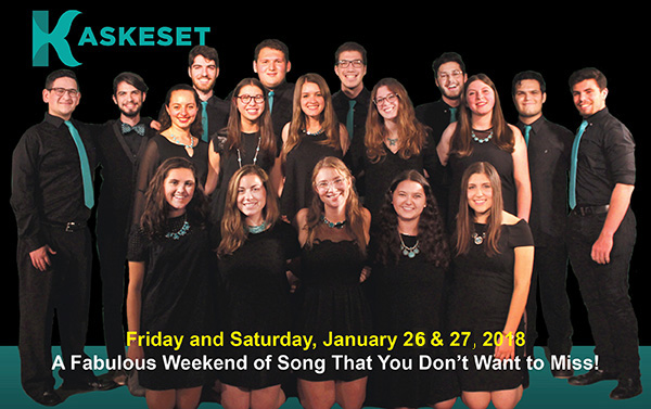 An A Capella Shabbat Weekend